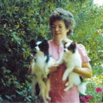 Papillon-Züchterin mit 2 Hunden