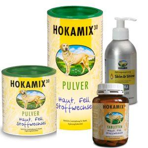 HOKAMIX Produkte, Pulver, Tabletten und Öl
