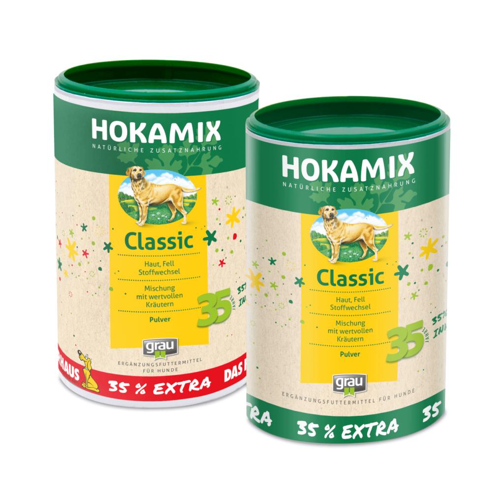 Jubiläumsdosen 35 Jahre HOKAMIX30